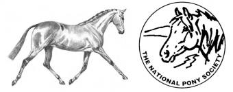 Logo for National Pony Society