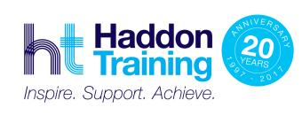 Logo for Haddon Training Ltd.